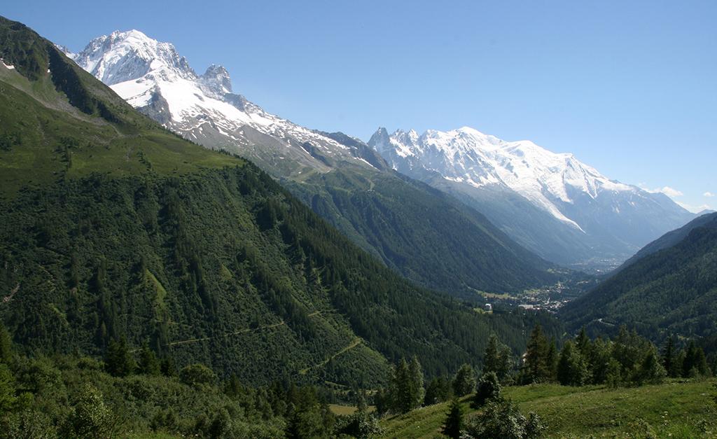 Le Flocon Vert dans la vallée de Chamonix Mont-Blanc